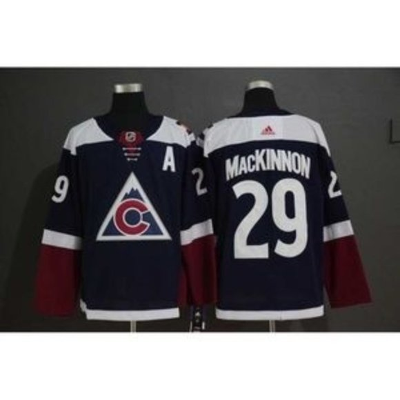 old avalanche jerseys